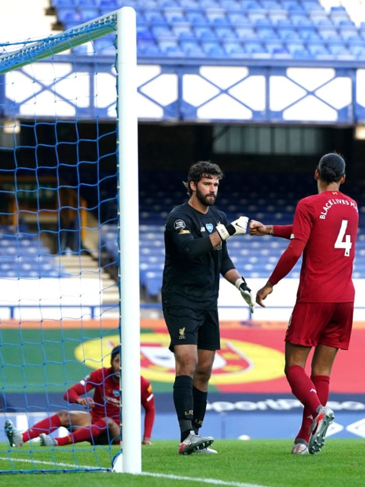 Alisson believes speaking to his defence with respect is the best way to help them to improve.