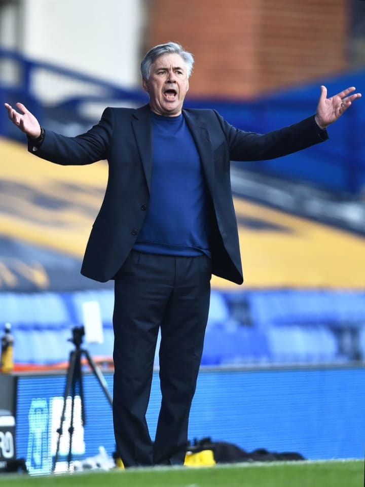 Ancelotti will be aiming to finish in the European places in his first full season in charge of Everton