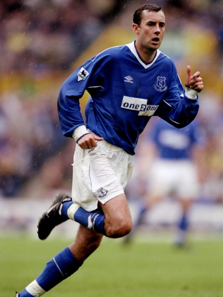 Hutchison played for both Everton and Liverpool