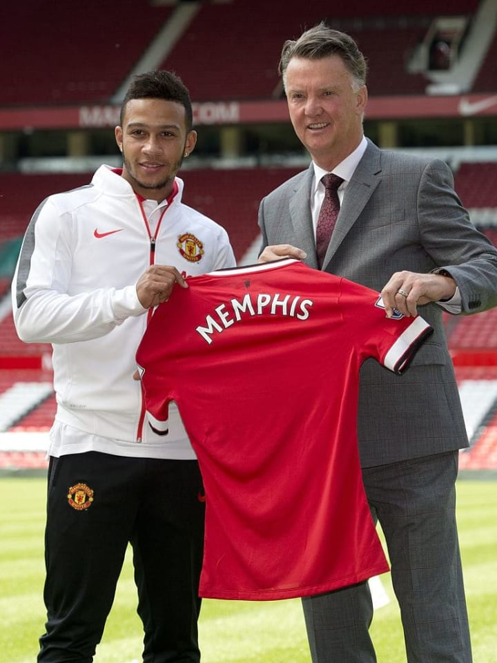 Memphis' time at Old Trafford was largely forgettable