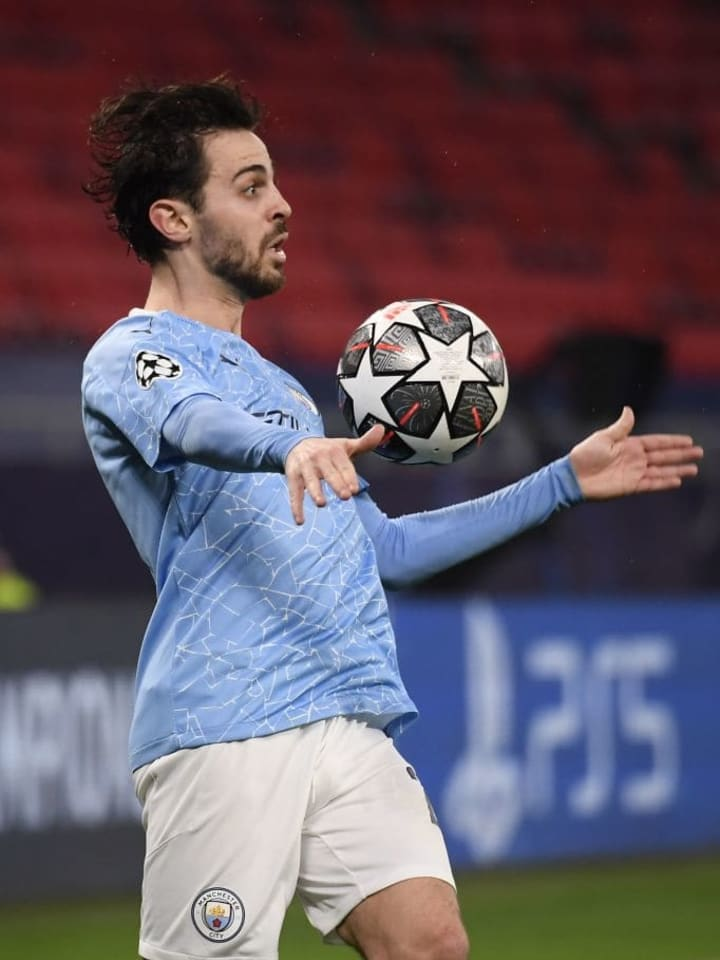Bernardo Silva scored and got an assist in midweek