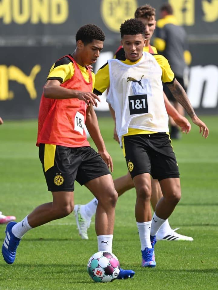 England internationals Jude Bellingham & Jadon Sancho have thrived at Dortmund