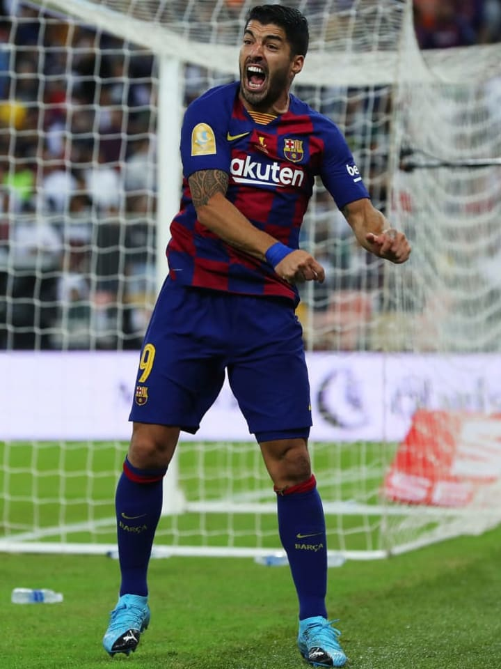 Luis Suarez will be available for selection when Barcelona resume their season this month