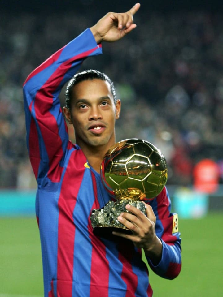 FC Barcelona's Brazilian Ronaldinho show