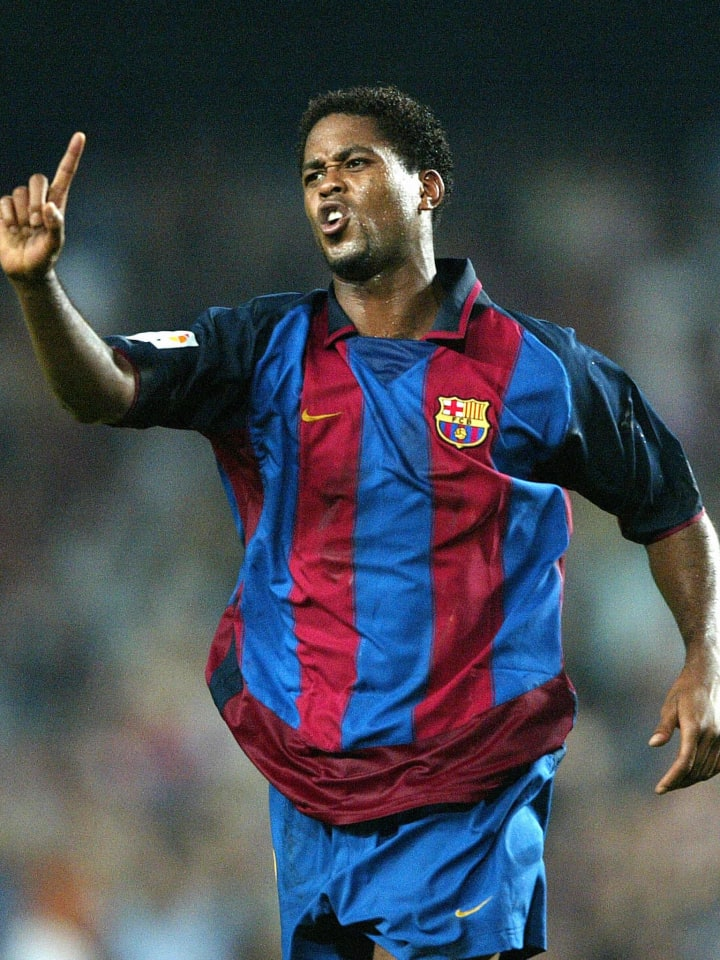 FC Barcelona's Patrick Kluivert of Holla
