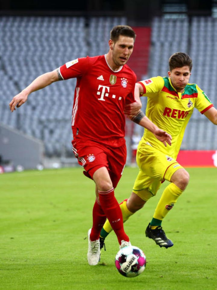 Niklas Sule looked very threatening from right back