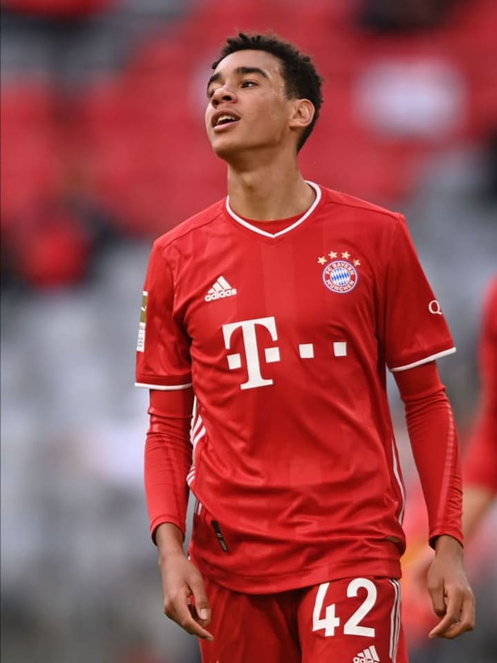Musiala has two goals for Bayern this season