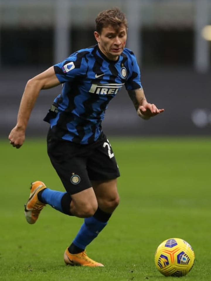 Nicolo Barella is a key component of the Inter midfield