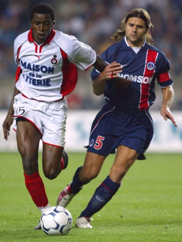 He previously spent time at PSG as a player