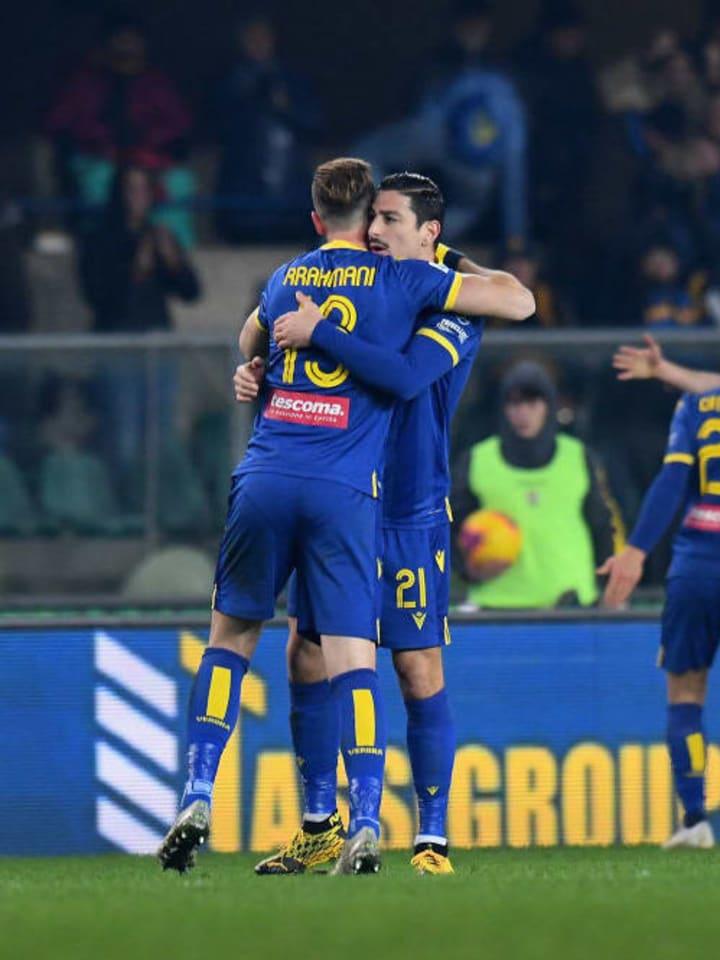 Hellas Verona players