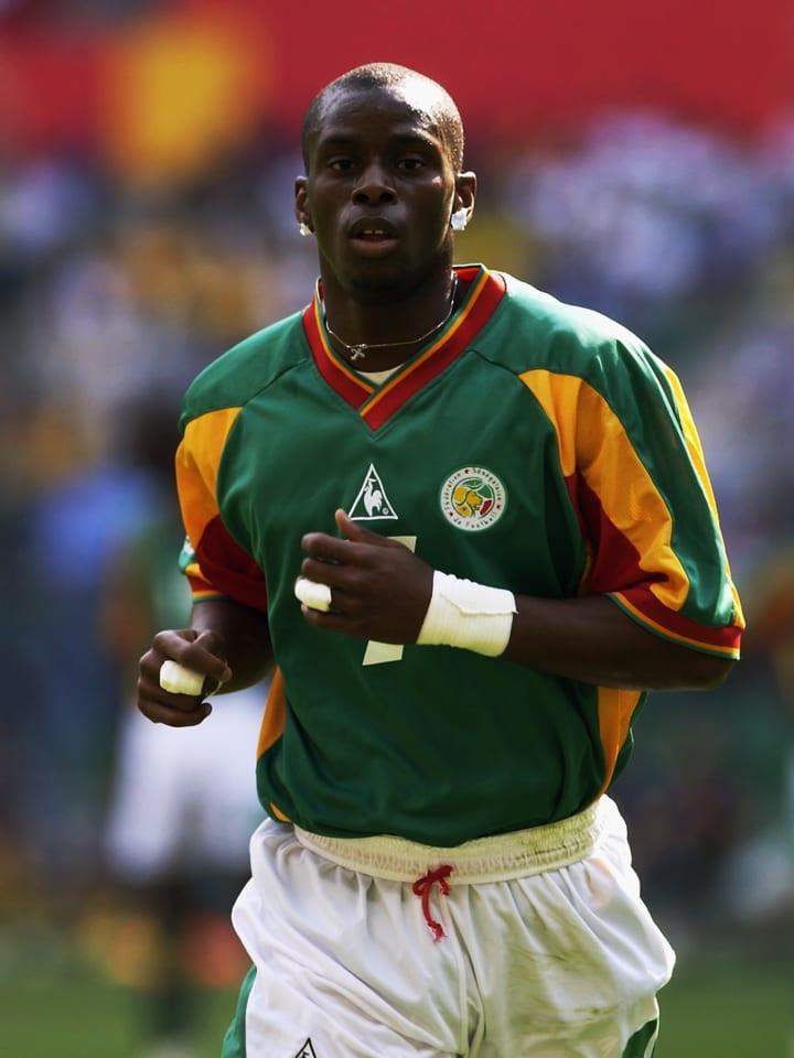 Henri Camara of Senegal