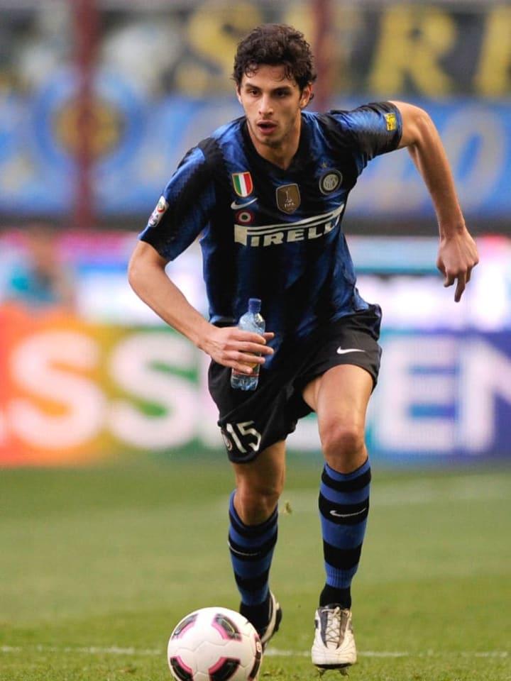 Inter Milan's  forward Andrea Ranochia d