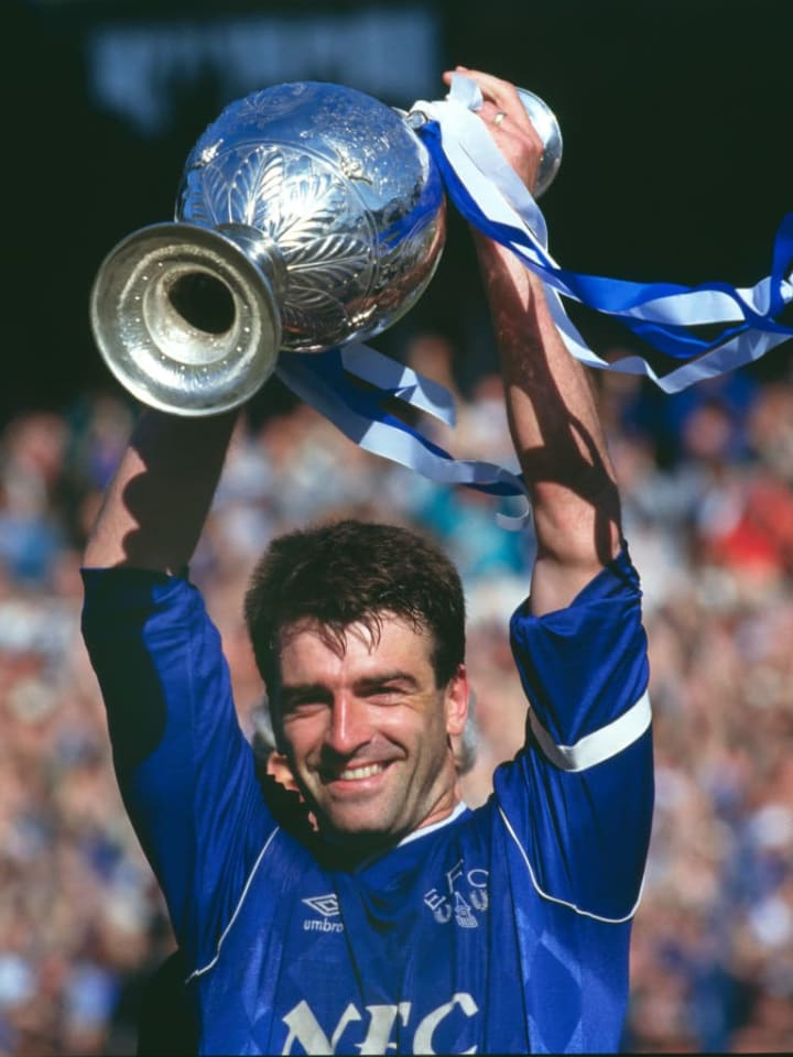 Ratcliffe is the most successful club captain Everton have ever had