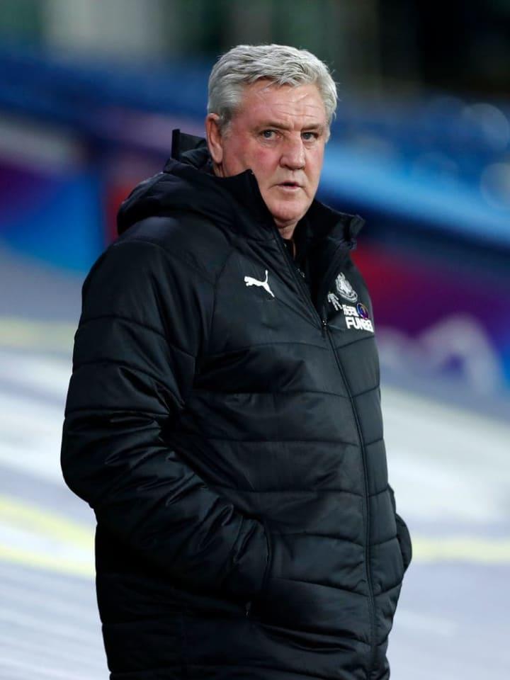 Bruce is under big pressure at St James' Park