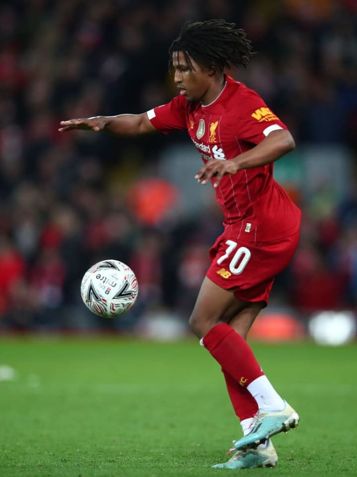 Larouci has made two first team appearances for Liverpool