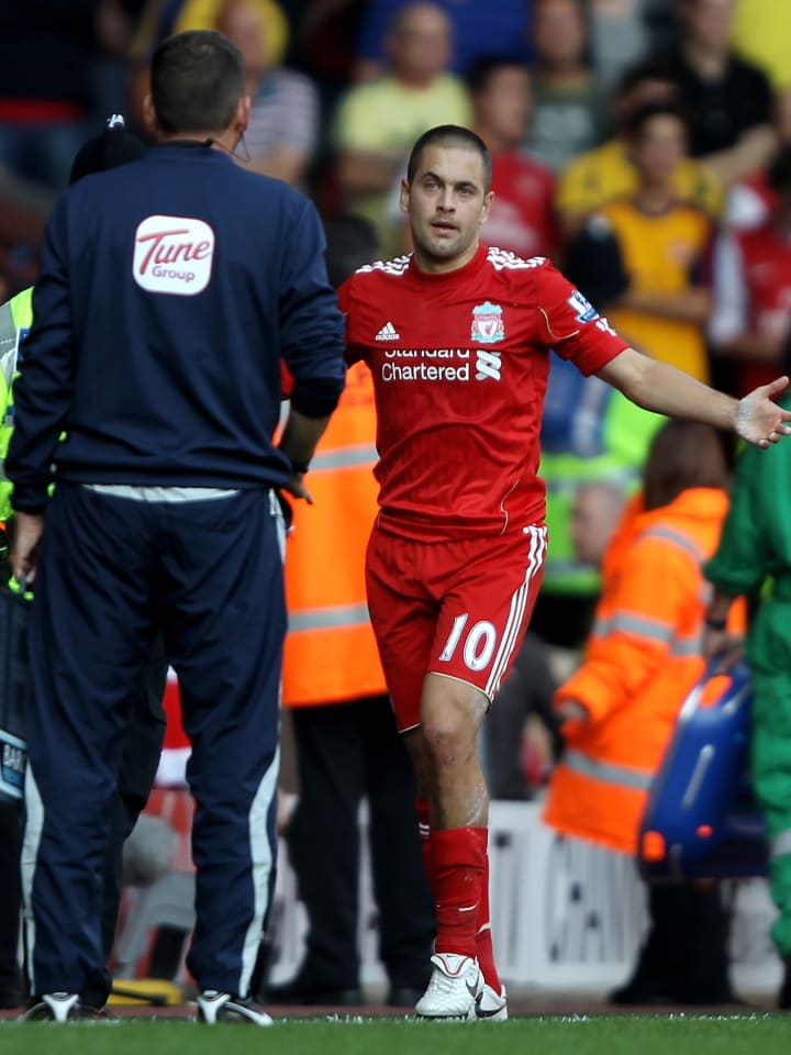 Joe Cole given his marching orders