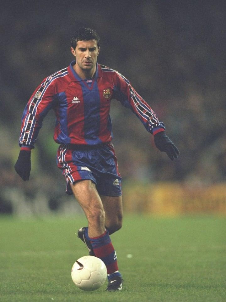 Luis Figo of Barcelona...