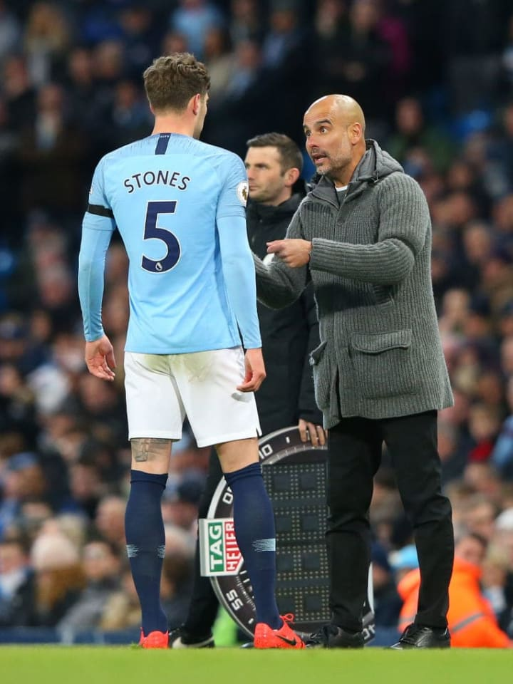 Pep Guardiola, John Stones