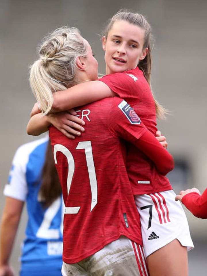 Man Utd duo Millie Turner & Ella Toone are both named in the squad