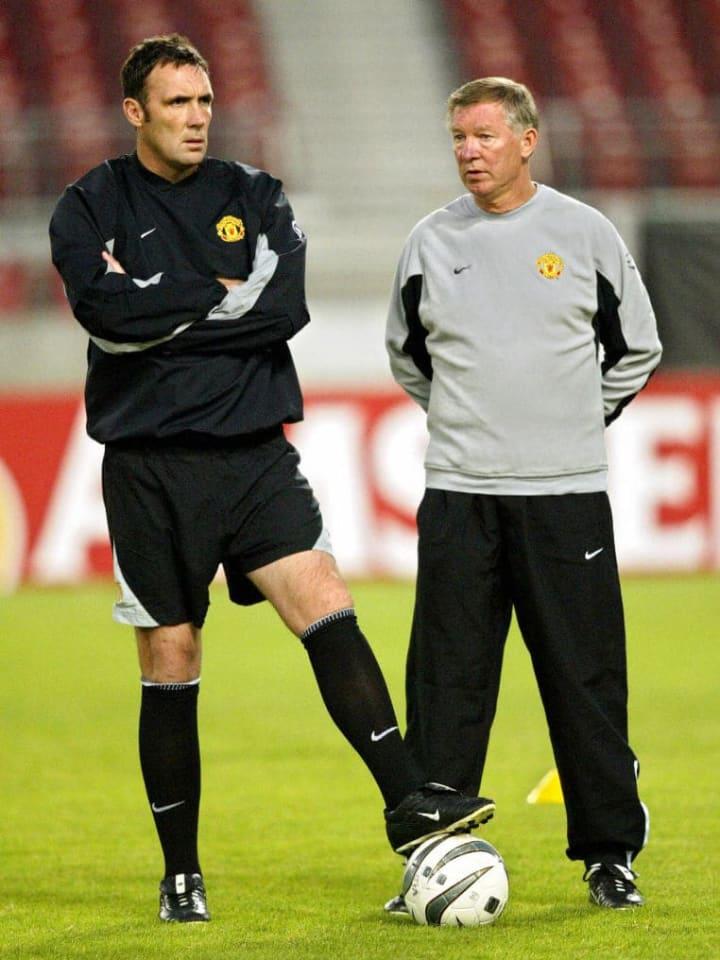 Manchester United coach Sir Alex Ferguso