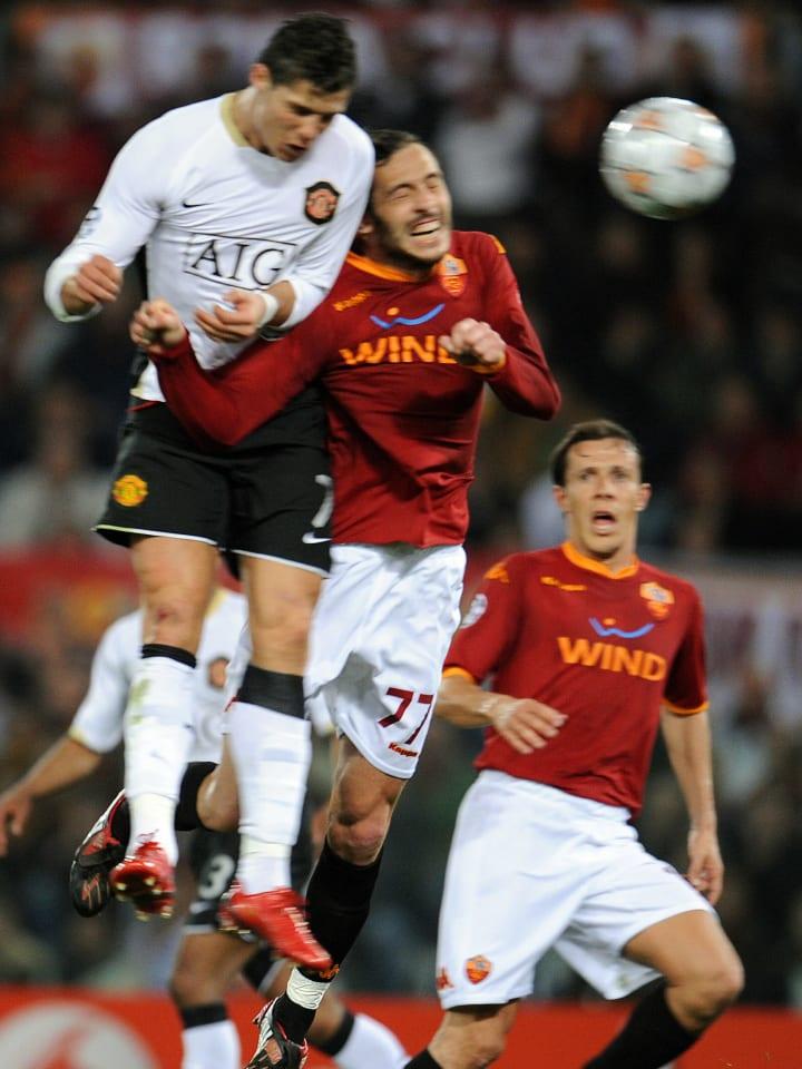 Manchester United forward Cristiano Rona