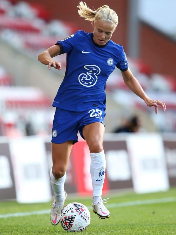 Harder made her Chelsea debut last week