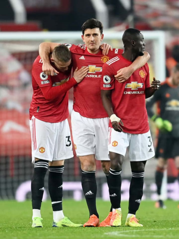 Scott McTominay, Eric Bailly, Harry Maguire