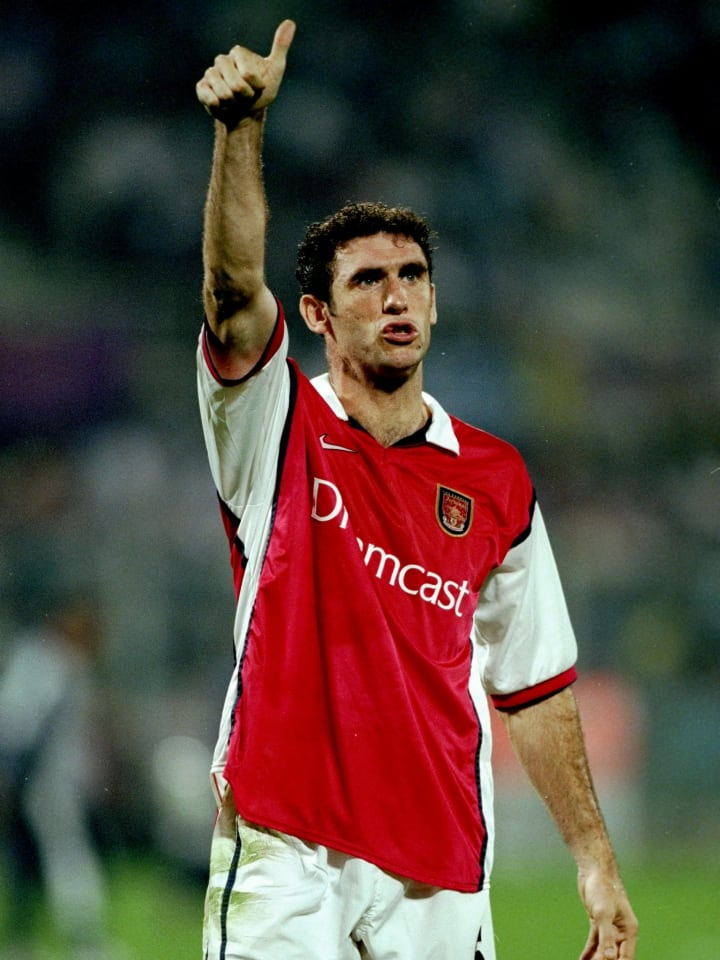 Martin Keown of Arsenal