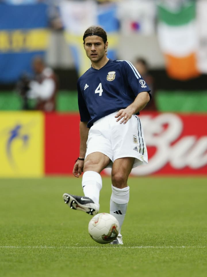 Mauricio Pochettino of Argentina