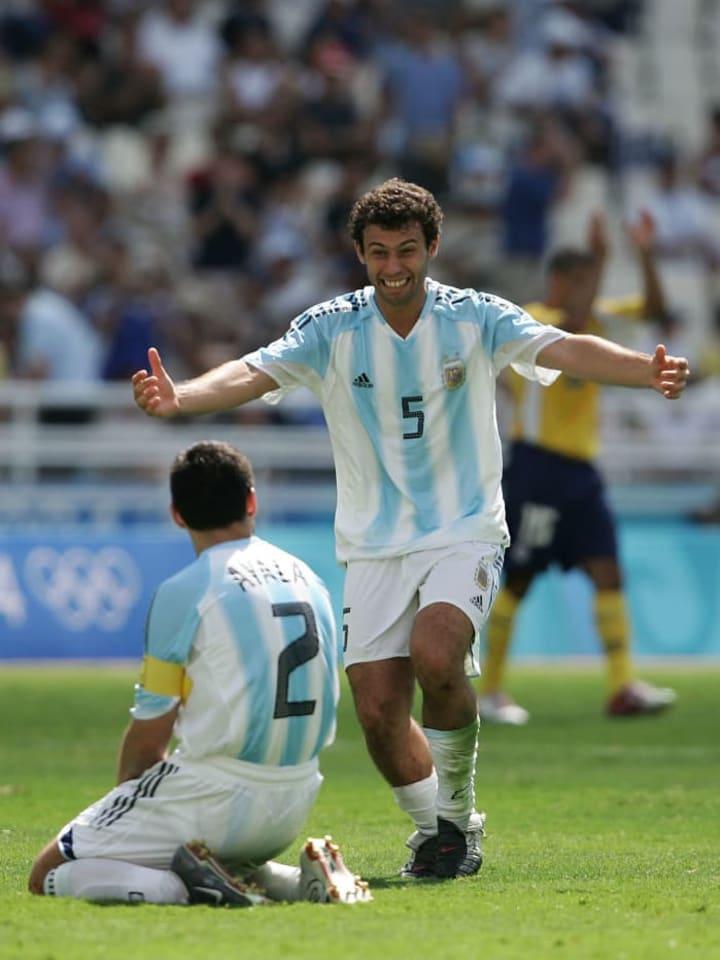 Javier Mascherano, Roberto Ayala