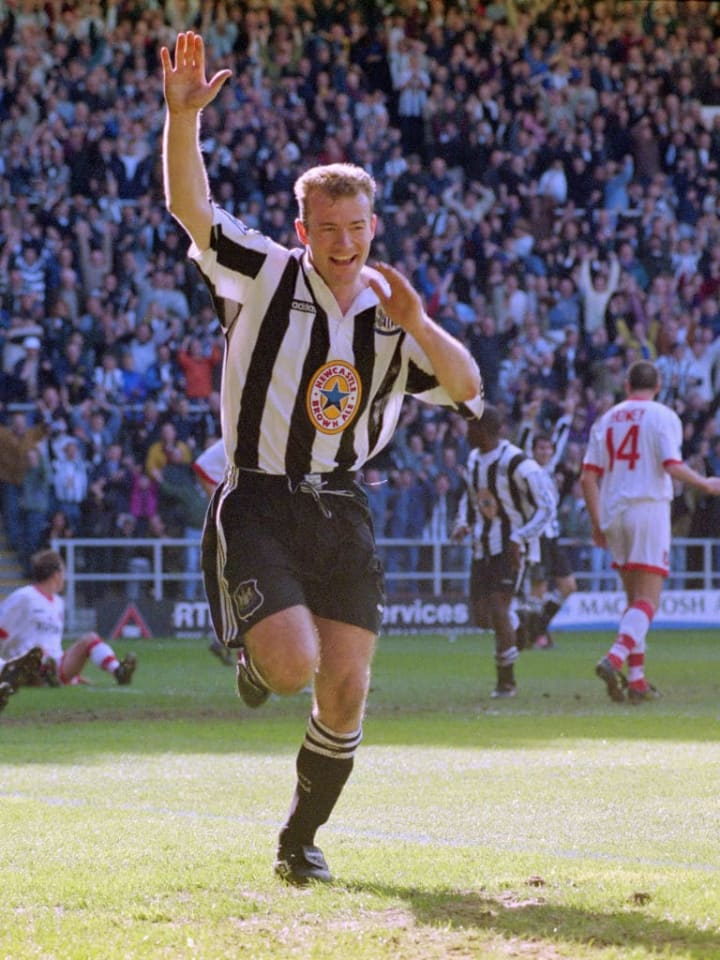 Alan Shearer scored half his goals on Boxing Day for Blackburn and half for Newcastle