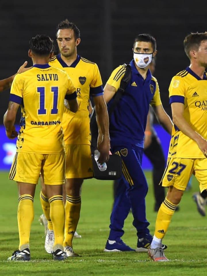 Newell's Old Boys v Boca Juniors - Copa De La Liga Profesional 2021 - Salvio decepcionó.