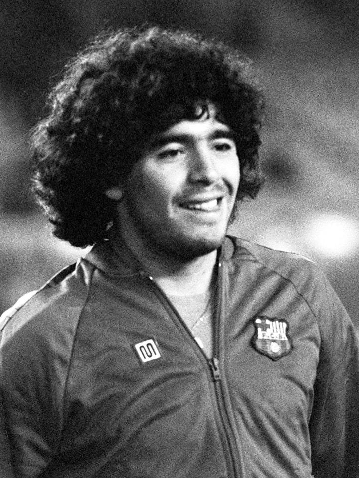 Maradona won a domestic double in his first season at Barcelona