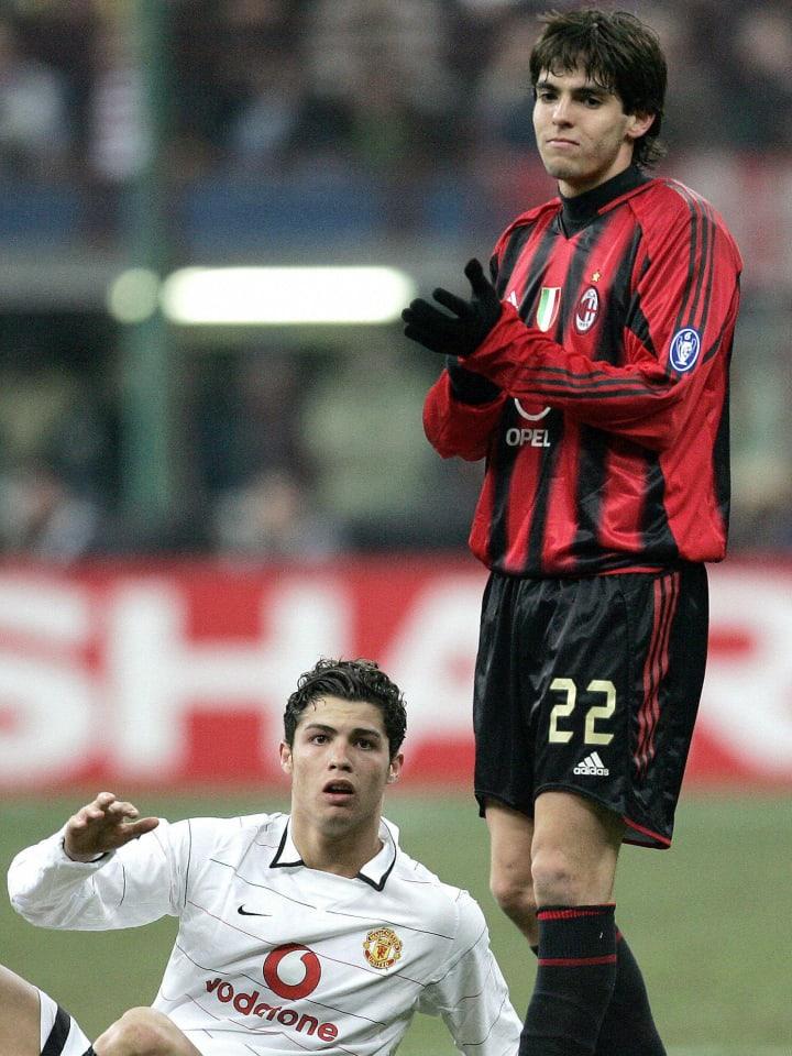 Portuguese Cristiano Ronaldo of Manchest
