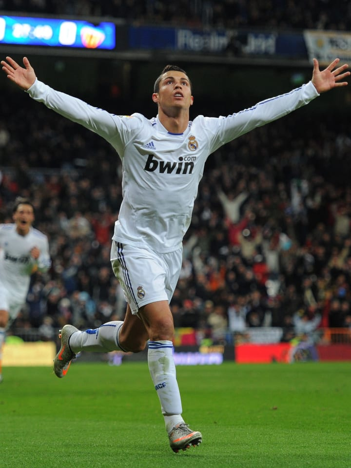 Ronaldo's record is more impressive because he never scored a hat-trick against Valencia
