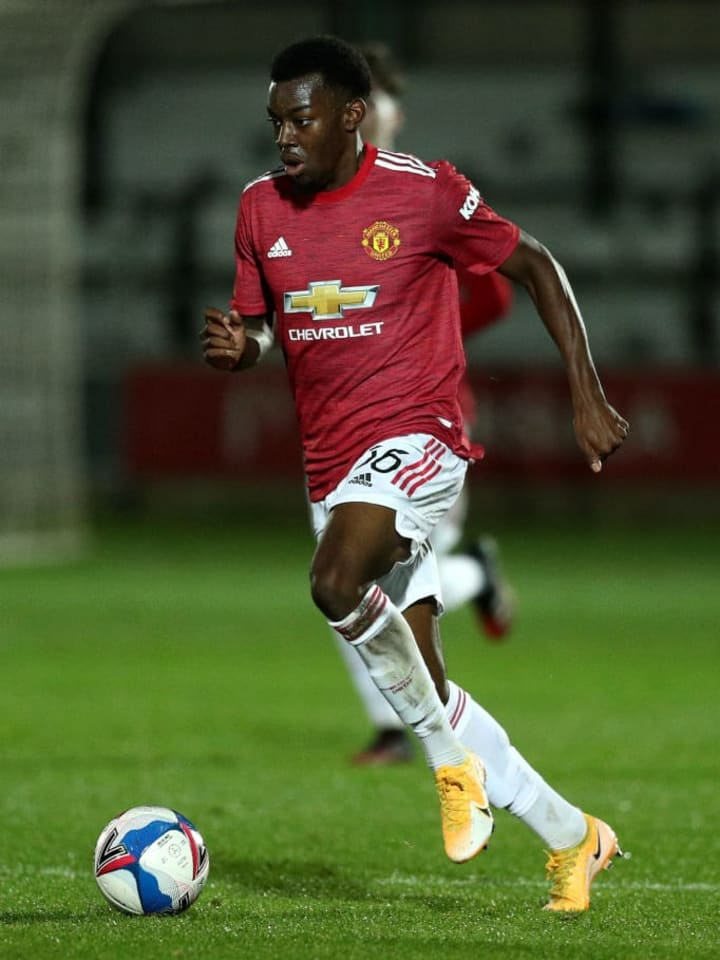 Elanga is noted for his speed