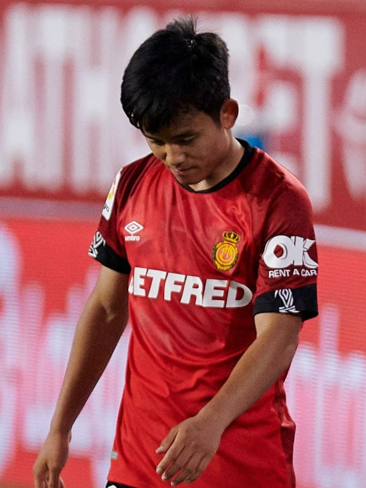 Kubo was unable to prevent RCD Mallorca 's relegation