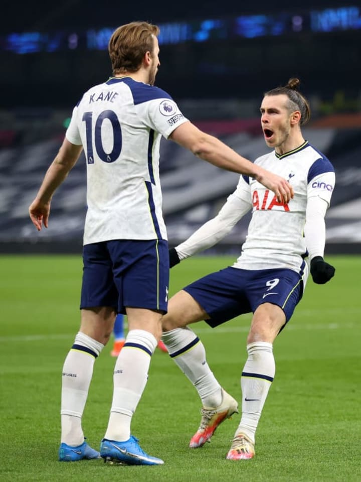 Gareth Bale, Harry Kane