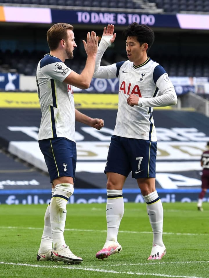 Kane and Son combined (again) for Spurs' second