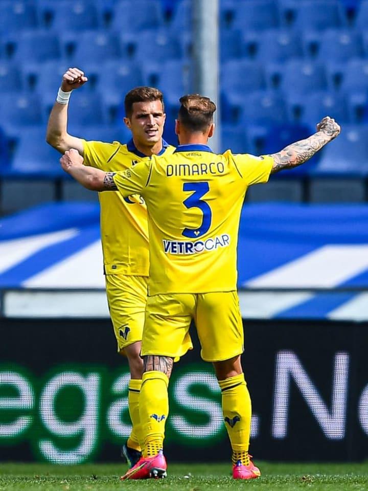 UC Sampdoria v Hellas Verona FC - Serie A