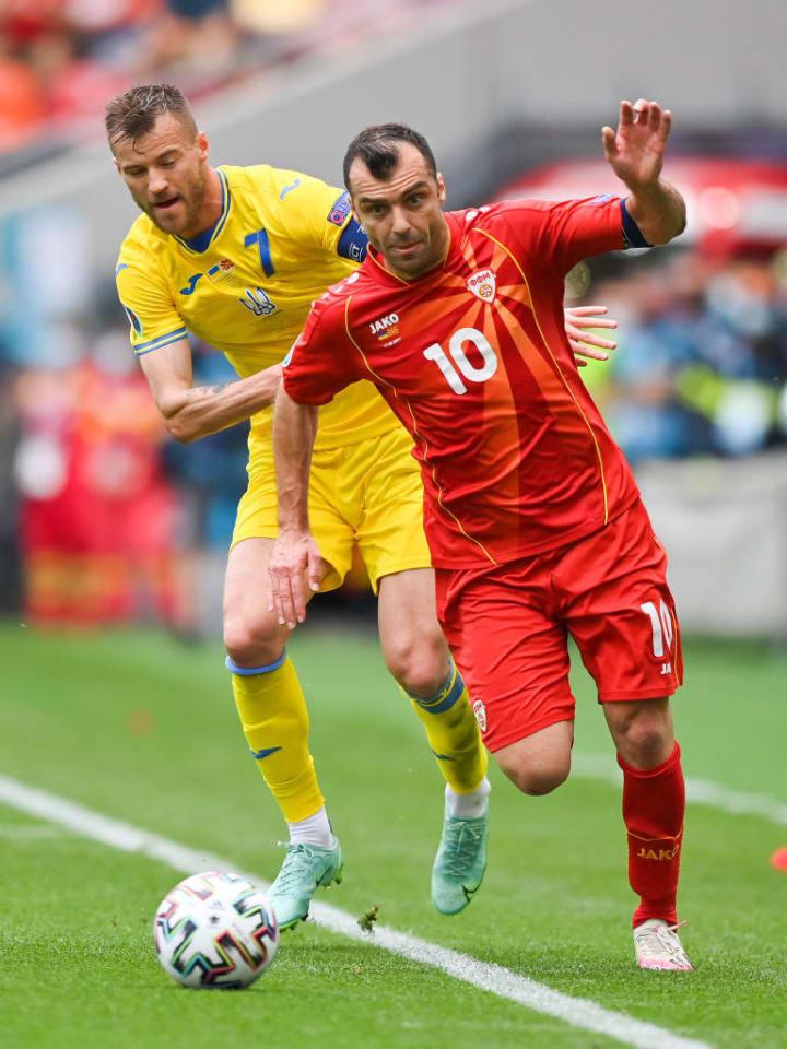 Goran Pandev, Andriy Yarmolenko
