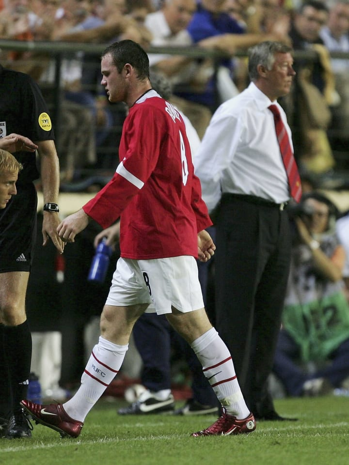 Sir Alex Ferguson, Wayne Rooney
