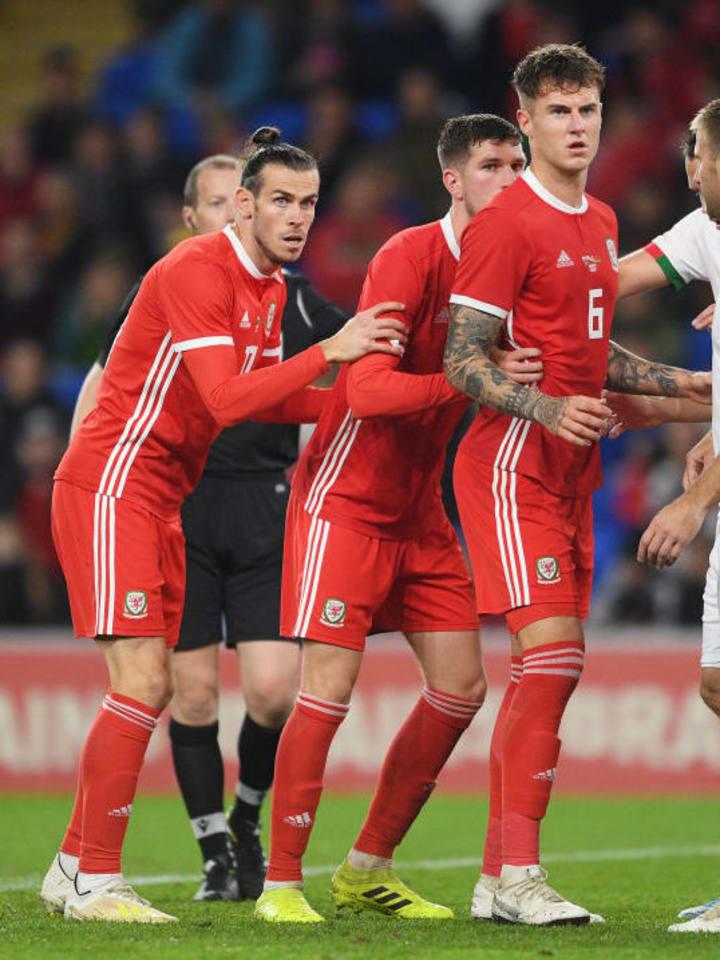 Gareth Bale, Chris Mepham, Joe Rodon