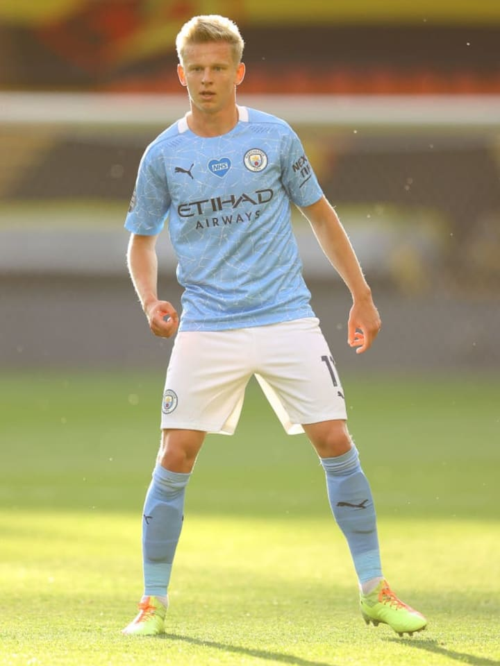 Zinchenko could join Garcia at Camp Nou