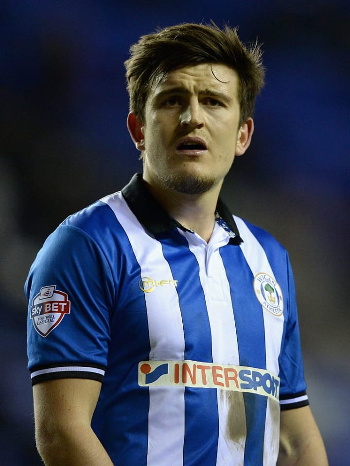 Maguire spent six months at Wigan
