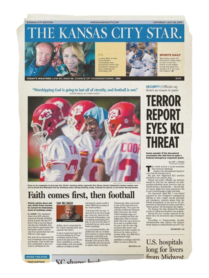 Hussain Abdullah   NFL   The Players' Tribune