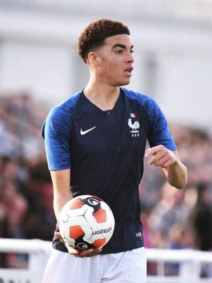Felix Nzouango - France U19