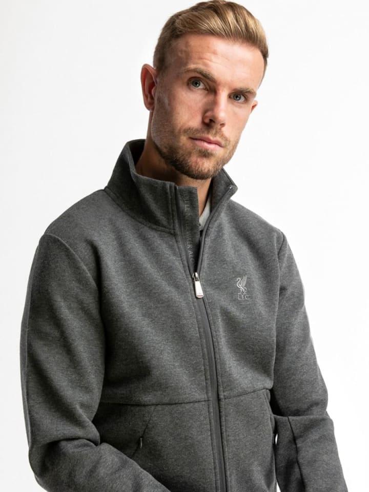 LFC Firma Mens Zip Sweatshirt (Photo: Liverpool Store)