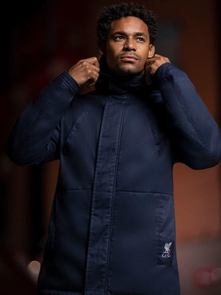 LFC Men's Navy Parka Jacket (Photo: Liverpool Store)