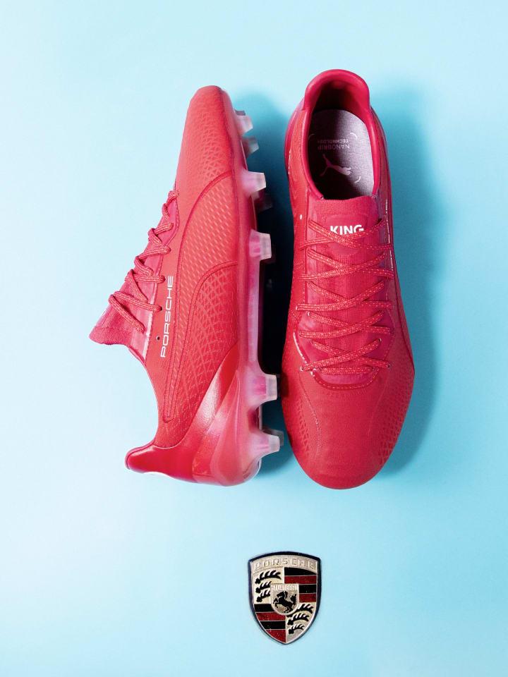 The boots are part of a Porsche - PUMA collaboration